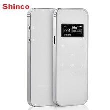 Shinco F6 8G Caneta Gravação Profissional de Redução de Ruído HD Ultra-fina de Metal Shell Botão de Toque Sem Perdas de ALTA FIDELIDADE de Voz gravador