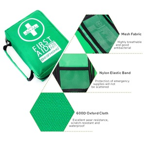 Image 5 - Mini botiquín de primeros auxilios portátil, resistente al agua, bolsa de primeros auxilios para coche, hogar, viaje, senderismo, Camping, Kits de emergencia al aire libre, 220 Uds.