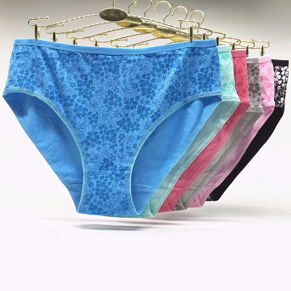 Ladies New Ex M/&S High Leg Briefs Knickers Cotton with Modal Lace Trim 101