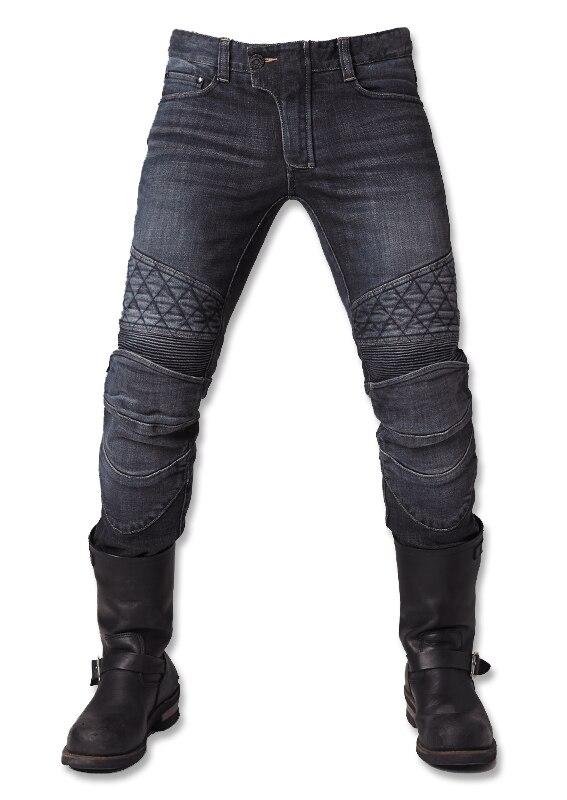 Free Shipping 2016 Motocross Duhan Pantalones Motocicleta Hombre Men Uglybros Guardian Ubp09 Motorcycle Road Locomotive Jeans