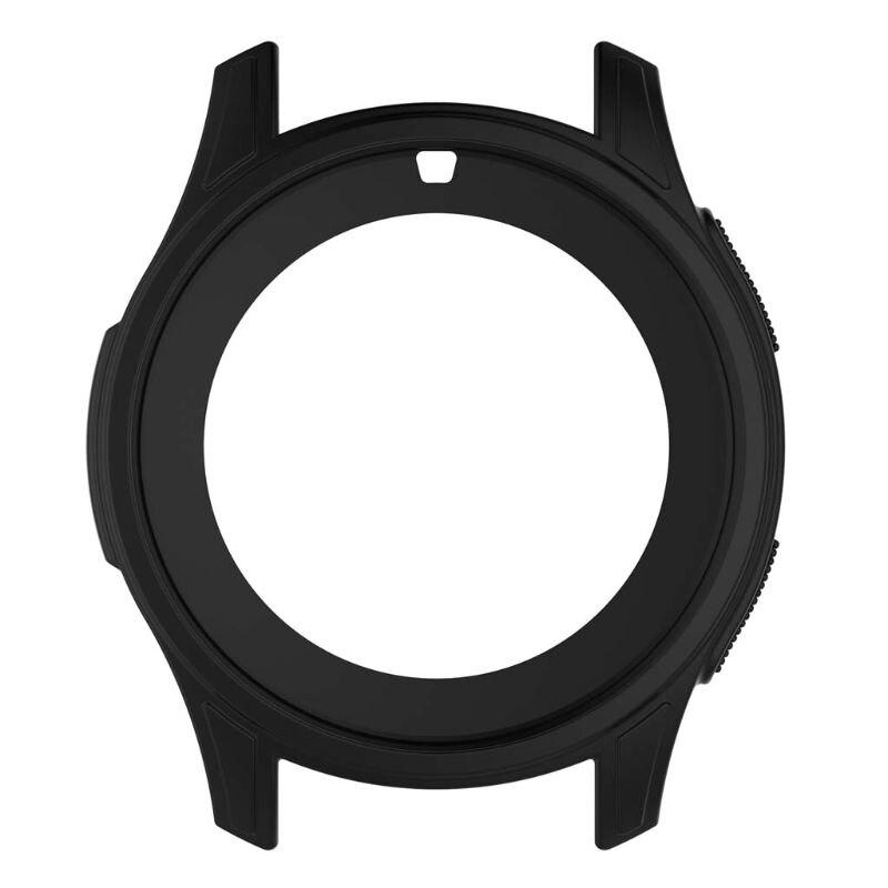 Coque de protection en Silicone souple coque de protection pour Samsung Galaxy Watch 46mm Gear S3 Frontier Support de livraison directe - 4