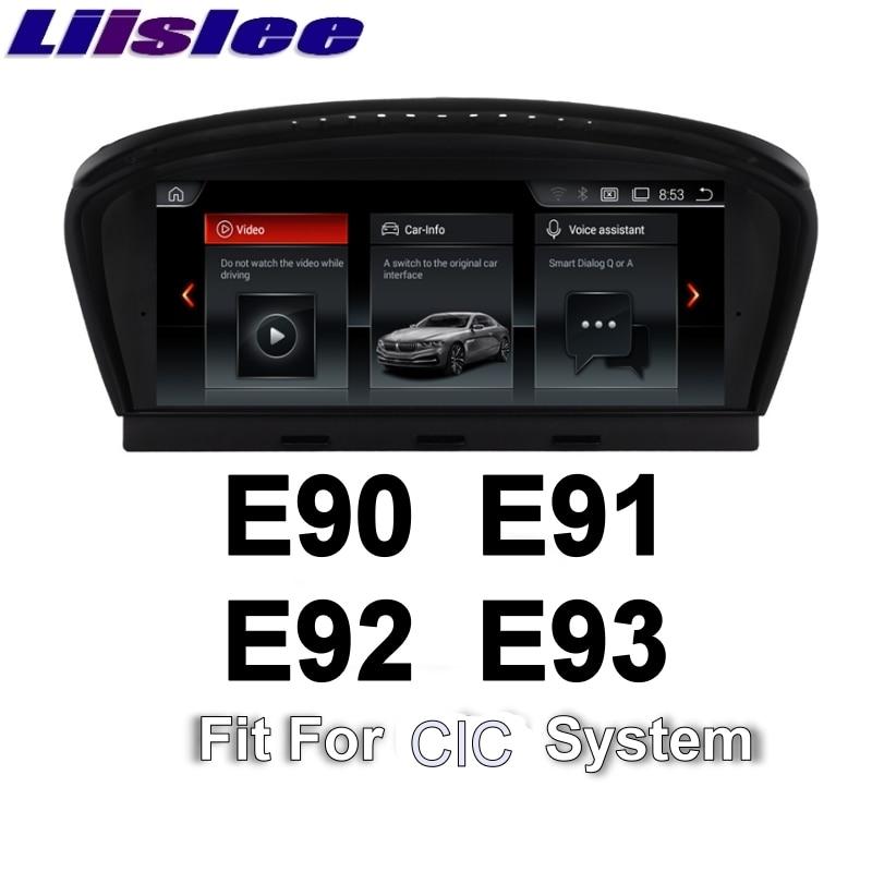 цена на For BMW 3 E90 E91 E92 E93 2009~2012 CIC LiisLee Car Multimedia GPS Audio Hi-Fi Radio Stereo Original Style Navigation NAVI