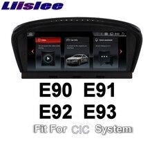 For BMW 3 E90 E91 E92 E93 2009 2012 CIC LiisLee Car Multimedia GPS Audio Hi