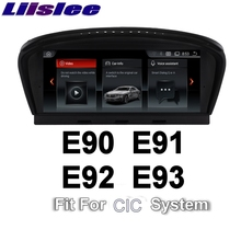 For BMW 3 E90 E91 E92 E93 2009~2012 LiisLee Car Multimedia GPS Audio Hi-Fi Radio Stereo Original Style For CIC Navigation NAVI