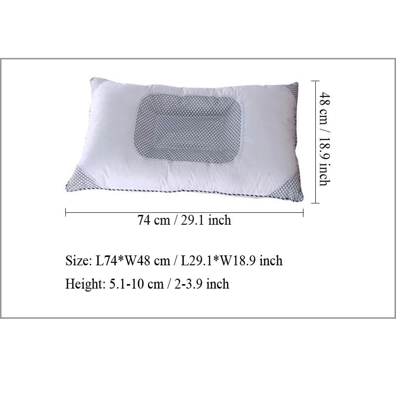 Nova marka 1 kom 100% pamučni jastuk masažer Semen Cassiae vratni - Tekstil za kućanstvo - Foto 2