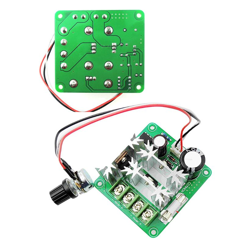 Upgraded 6v-90v 15a Pulse Width Pwm Dc Motor Speed Governor Controller Switch Plc Module Crazy Price Electrical Equipments & Supplies Dc Motor