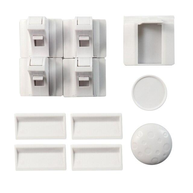 Magnético niño cerradura de armario de seguridad para bebé protección de los niños cajón armario de seguridad del armario a prueba de cerraduras