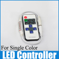 Single color controller 2-24V mini RF wireless led remote control WLED64