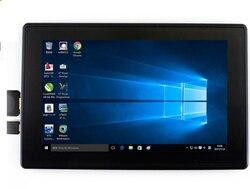Para raspberry pi 4 modelo b / 3b + / 3b 7 polegada tela com tela lcd caso 7 display monitor 1024x600 ips tela de toque capacitivo