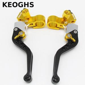 Image 2 - Keoghs 22mm Evrensel Motosiklet fren debriyaj Kolları/davul Fren Sol Ve Sağ Honda Yamaha Kawasaki Suzuki Için Bir Çift