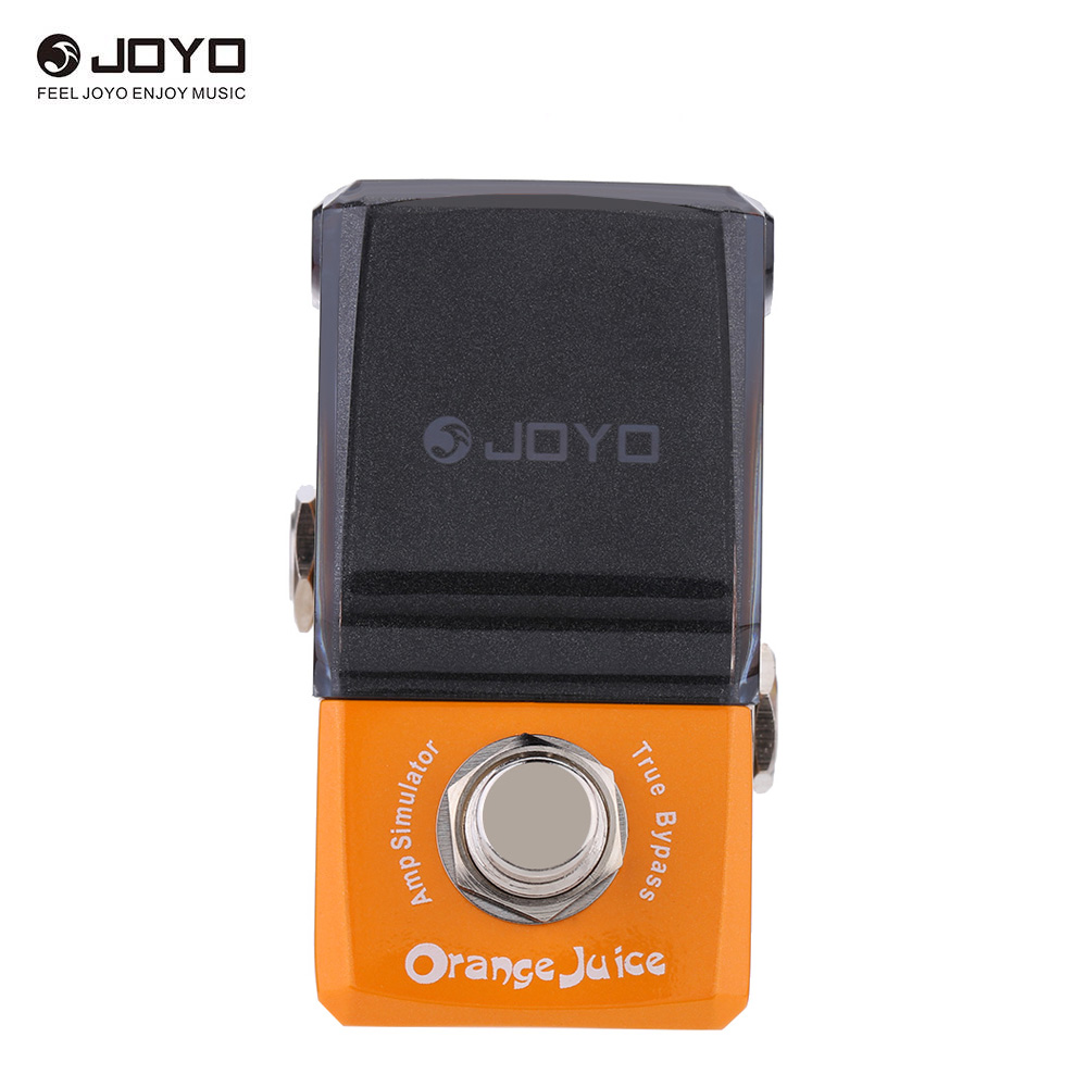 buy joyo jf 310 orange juice amp simulator mini electric guitar effect pedal. Black Bedroom Furniture Sets. Home Design Ideas