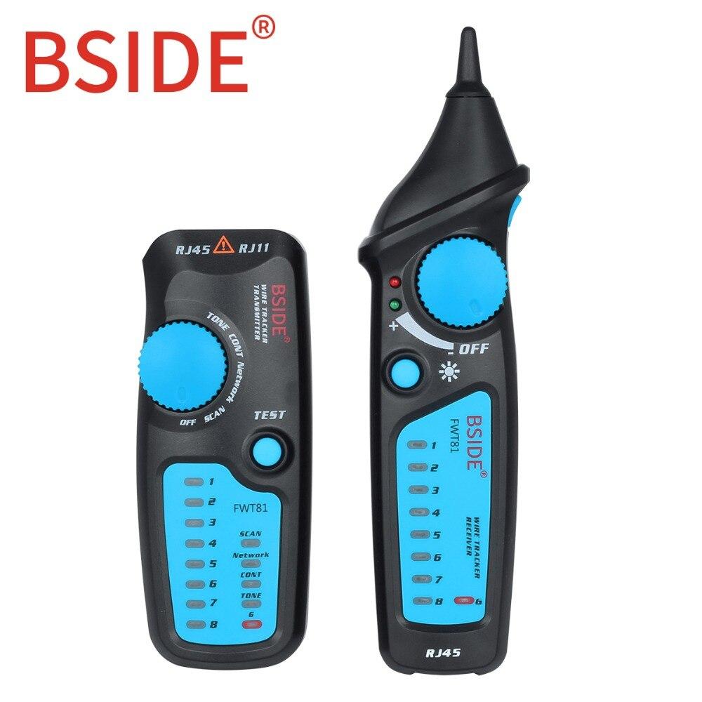 FWT81 Cavo Tracker RJ45 RJ11 Filo del Telefono di Rete LAN TV Linea Finder Tester ElettricoFWT81 Cavo Tracker RJ45 RJ11 Filo del Telefono di Rete LAN TV Linea Finder Tester Elettrico