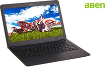 Bben Ultrabook Intel N3150 Quad ядер 1920×1080 FHD WI-FI Bt4.0 HDMI Экран 4 ГБ Оперативная память + 32 ГБ EMMC + 1000 ГБ HDD Win10 PC ноутбук