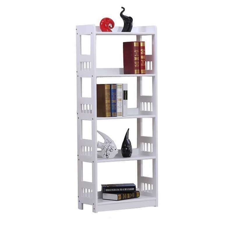 Simple bookshelf Shelf floor bookcase Children wooden Student combination storage rack children s bookcase shelf bookcase cartoon toys household plastic toy storage rack storage rack simple combination racks