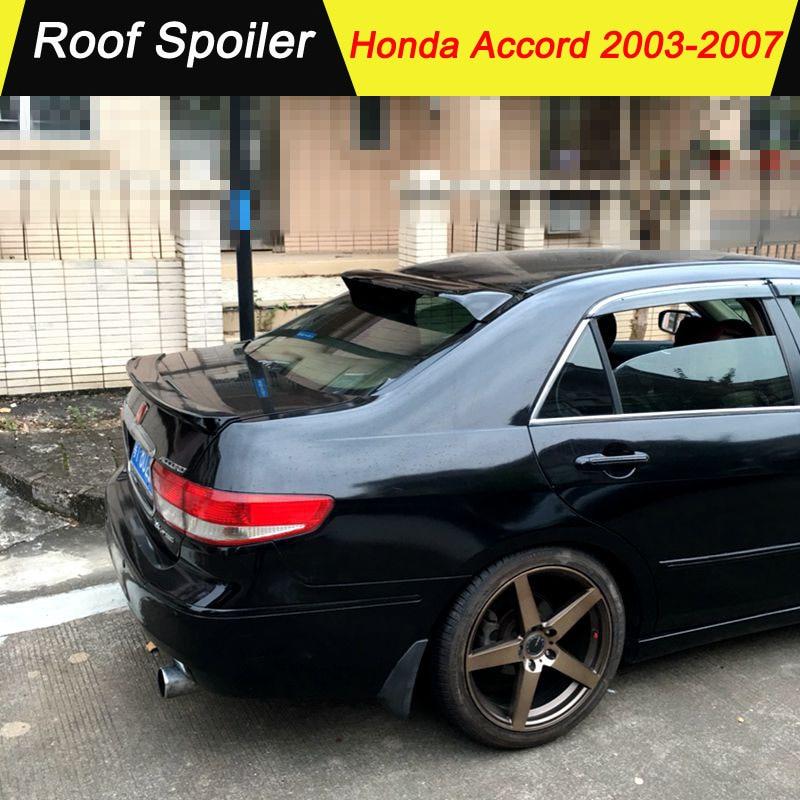 Rear Roof Factory Style Spoiler Wing for 2006-2007 Honda Accord Sedan Unpainted