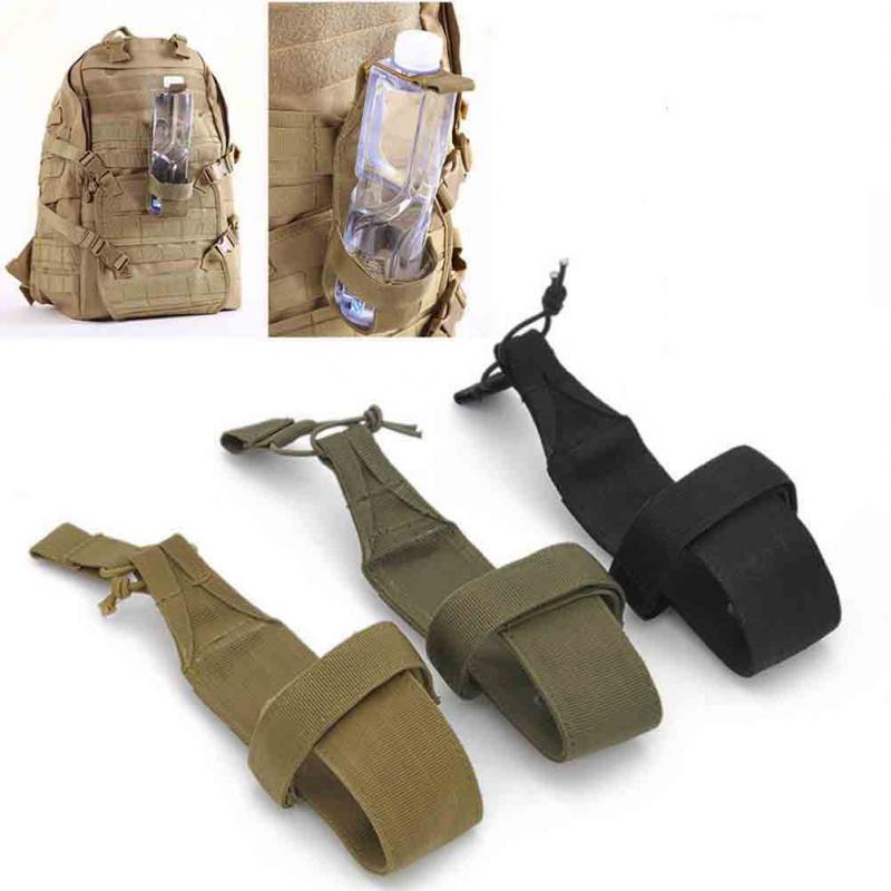 High Quality Minimalist Tactical Hiking Camping Molle Water Bottle Holder Belt Carrier Pouch Nylon Bag Travel Kits