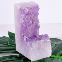 Raw Amethyst Rock Figurine 359 g Beautiful Purple Skeletal Quartz Crystal Agate Specimens Feng Shui Healing Statue