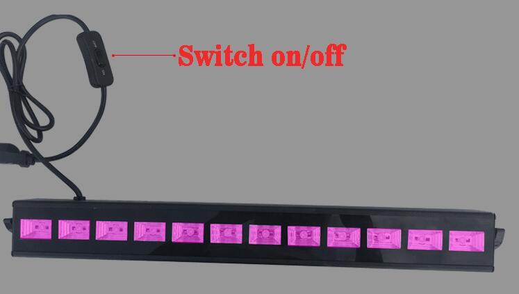 Rasha New Arrival 9leds*3W UV LED Wall Washer Light 27W LED Wall Light DJ Party Light Stage Disco Pixel UV Light For Xmas Event