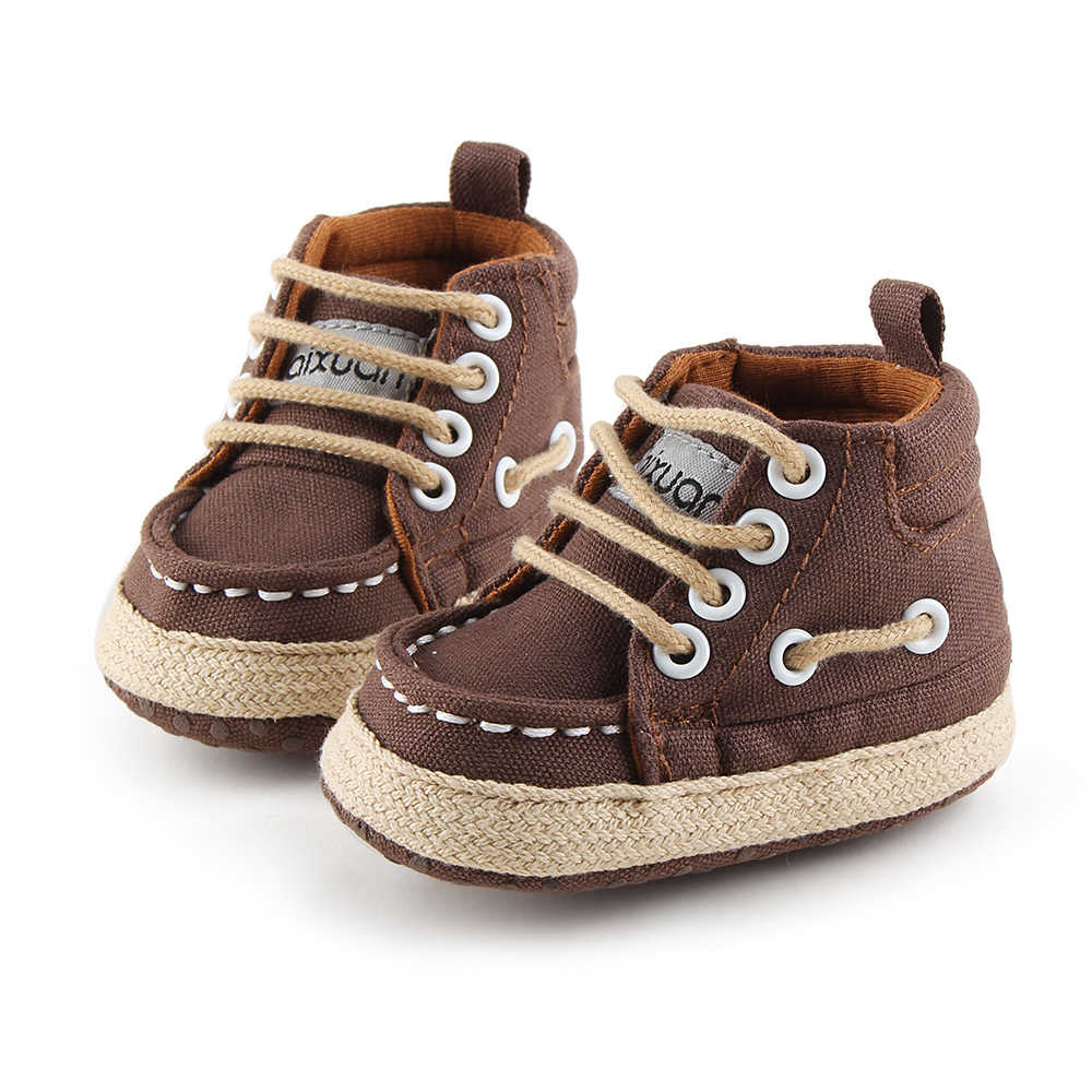 f338cb5304b77 Delebao Lace-up Sneaker Baby Boy Shoes Have Qualitative Feeling  Spring/Autumn First Walkers