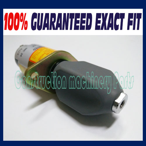 Fast free shipping, stop solenoid valve SA-4259 SA-4259-24 1751-24A6U1B1S5 (24V 2 terminals) 3a fuel shutdown stop solenoid valve sa 4259 12 1751 12a6u1b1s5 31 0202 free shipping