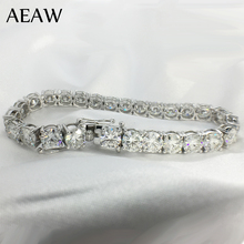 AEAW Platinum Plated Silver 18CTW 18CM Length 5mm F Near Col