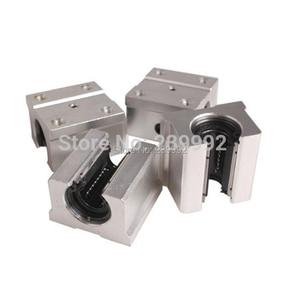 Image 1 - Bloc doreiller linéaire ouvert, 4 pièces SBR16UU SBR16 UU 16mm, bloc doreiller linéaire ouvert 16mm, CNC pièces de routeur