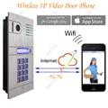 Wireless WIFI IP Video Door Phone via Smartphone Control,remote control door access by iphone,android smartphone&Tablets