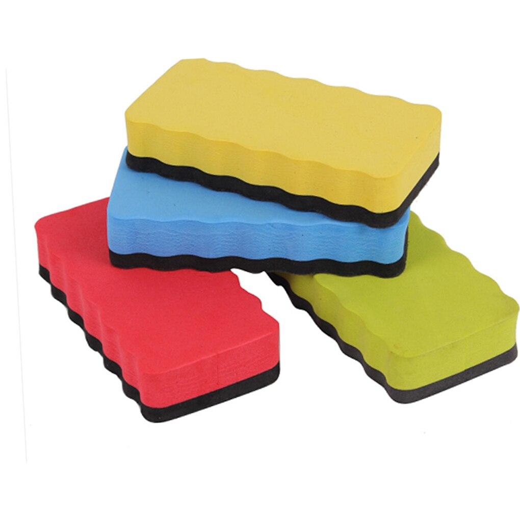 Mit Magnetische Bord Gummi Whiteboard Trockenen Büro Schule Versorgung Tafel Radiergummi Professionelle Reinigung Werkzeug Marker Zufällige Farbe Bord Radiergummi