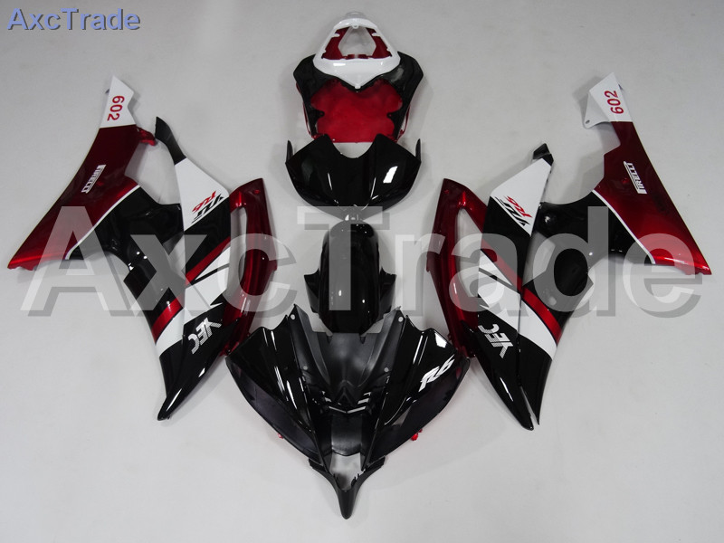 Motorcycle Fairings Kits For Yamaha YZF600 YZF 600  R6 YZF-R6 2008-2014 08 - 14 ABS Injection Fairing Bodywork Kit Red Black injection molding bodywork fairings set for yamaha r6 2008 2014 blue black full fairing kit yzf r6 08 09 14 zb83