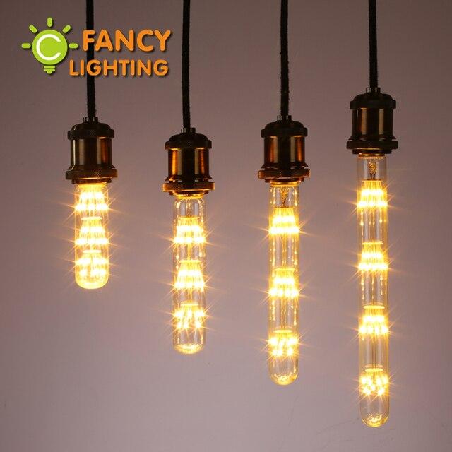 Led Tube Starry Sky Light Bulb E27 Dimmable Decorative Lamp For Home Living Room