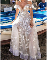 Women Dresses Elegant For Weddings Off Shoulder Long Dress Beach Party Lace White Vintage Formal SexyDress 2018 Summer Dresses