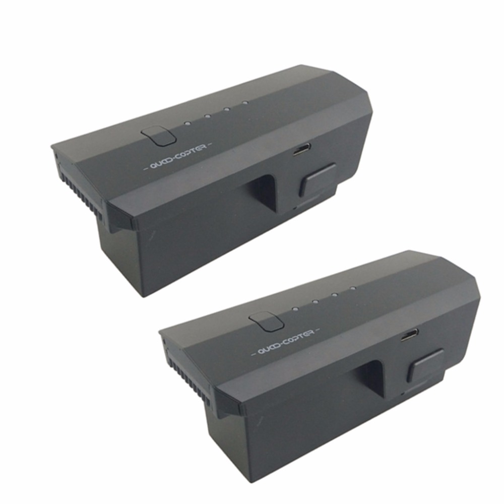 2PCS 11.1V 2500mah lithium battery for SJRC F11 folding four-axis aircraft aerial photography brushless remote control aircraft 2PCS 11.1V 2500mah lithium battery for SJRC F11 folding four-axis aircraft aerial photography brushless remote control aircraft