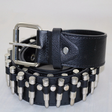 HUOBAO New Punk Bullet Belts Men Hip Hop Rivet Belt Male PU Leather Rock Motorcycle Women Strap For Jeans Ceinture Femme