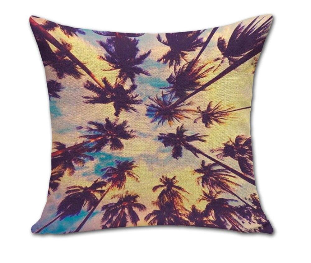 sommer liebe kissenbezug ananas blume kissenbezüge ozean kokospalme