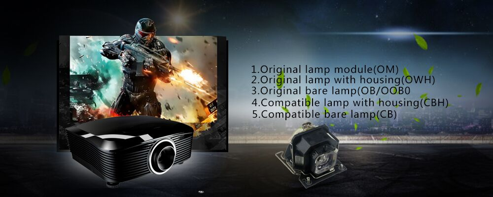 High Quality projector replacement lamp