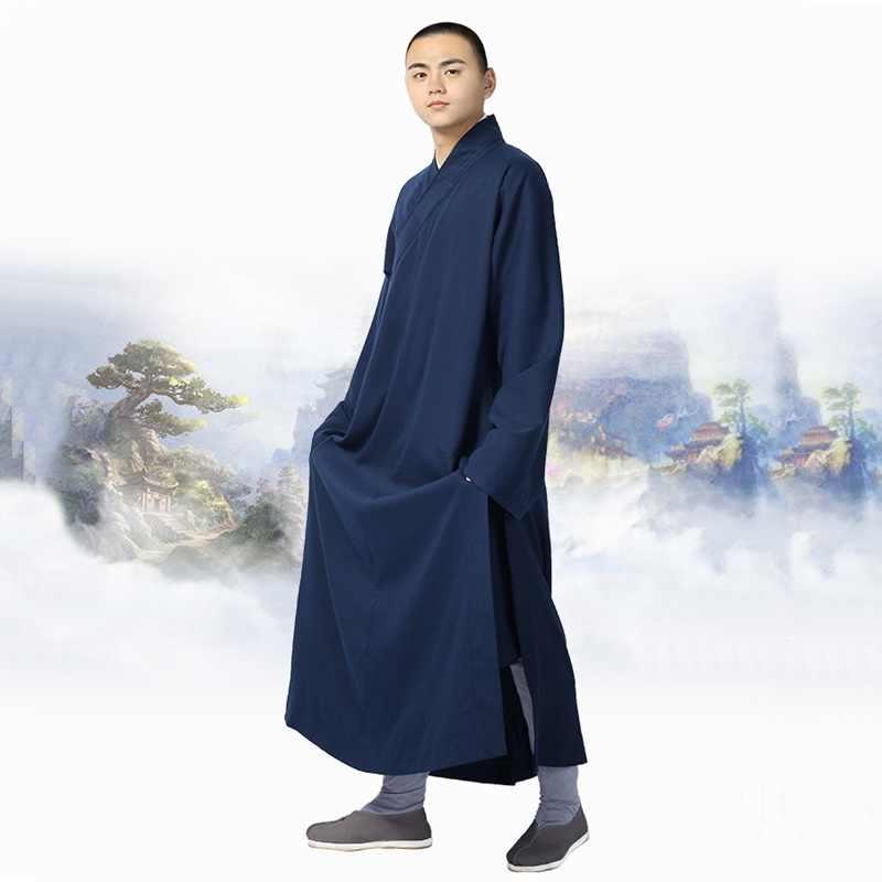 僧侶のローブ制服禅服少林寺僧の服僧侶衣装 TA530