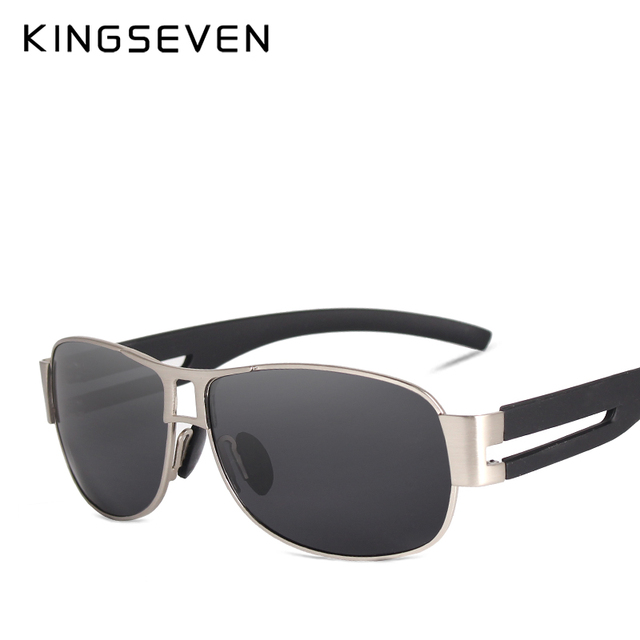 KINGSEVEN Men Classic Brand Sunglasses Luxury Aluminum Polarized Sunglasses EMI Defending Coating Lens Male Driving Shades N7806 3