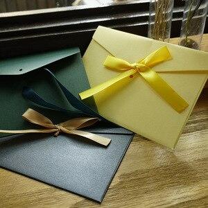 Image 3 - Envelopes de papel vintage 50 pçs/set, fita de envelopes em branco envelopes de convite/presente/envelope/12 cores drop shipping