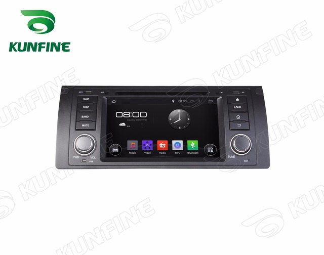 Quad Core 1024*600 Android 5.1 Car DVD Player de Navegação GPS Som Do Carro para BMW E39 (1995-2003) Radio 3G Wifi Bluetooth