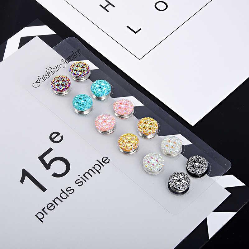 Beautiful Muslim Hijab Fashion Magnetic Hijab Pins Headwear Brooch Modest Gift