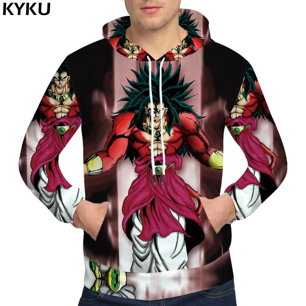 KYKU Dragon Ball Z Hoodies Goku Mens Clothing Hoodie Hip Hop 3d hoodies 3D Sweatshirts Male Sweat shirt Men Streetwear