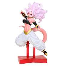2019 DRAGON BALL FIGHTER Z NO.21 Girl Woman Majin Buu PVC Figure Model Toys DBZ Figural model Collection anime figurine