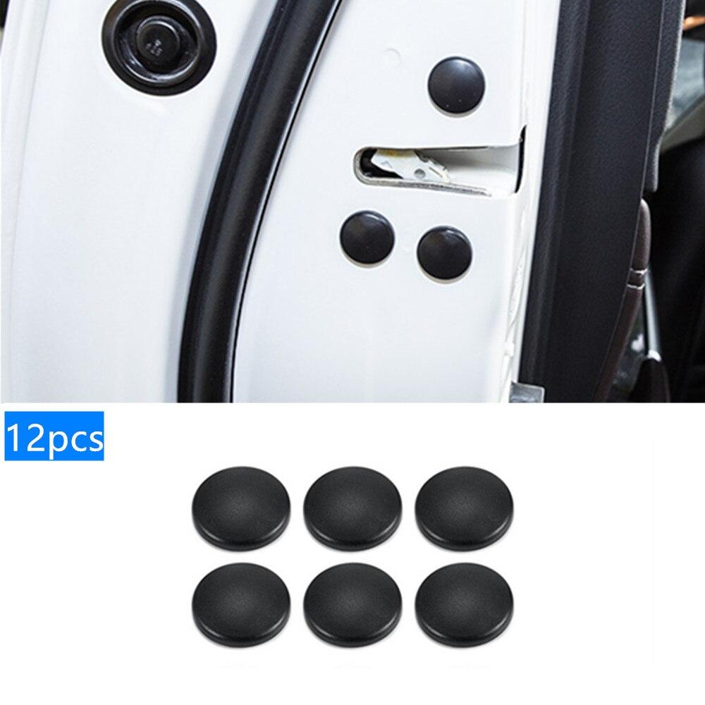 12pcs Car Door Lock Screw Protector Cover For Peugeot 301 308 308S 408 2008 3008 4008 5008 Car Accessories