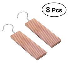 8 шт. кедровые подвешивания анти моли от репеллента для шкафов и ящиков
