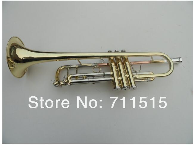 Bb שטוח Trumpet TR-600 פליז קטן Trompeta פליז - כלי נגינה