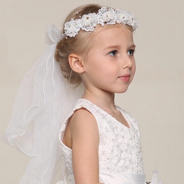 Childrens Wedding Hair Accessories   Midway Media