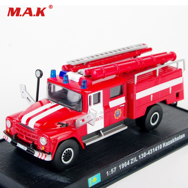 1:57 Scale Red Fire Truck Models 1/57 Diecast Fire Truck Model Car Toys Vehicles With Box Gift for Children