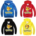 Neat бренд pokemon идти Длинным рукавом толстовки kid детская одежда Мальчики одежда прохладный стиль удобный костюм мальчики толстовки 3878 #