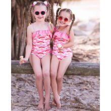 ef8e14daa61a9 ITFABS Toddler Swimwear Baby Girl Rainbow Bikini Ruffles Strappy Swimsuit  Kids