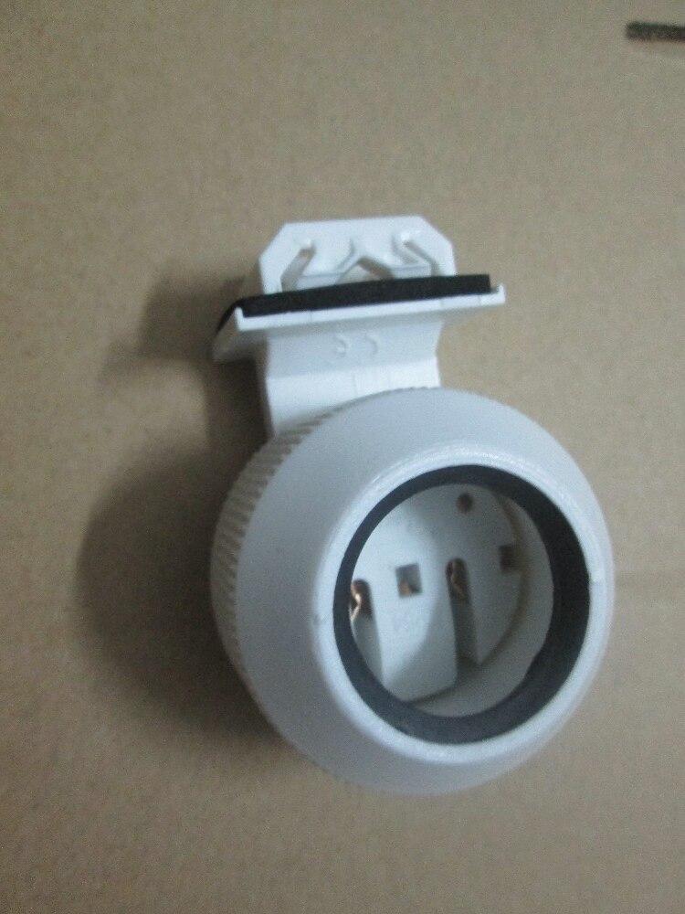 2pcs Waterproof T8 G13 Lamp Bases Light Holder For Aquarium Etc